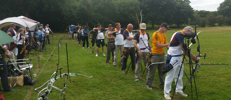 Archers on the line at FWAG 2016 2nd leg